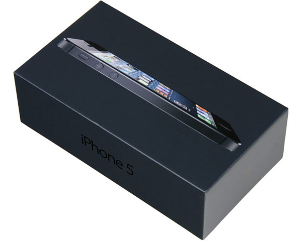 Apple iPhone 5 Empty Box